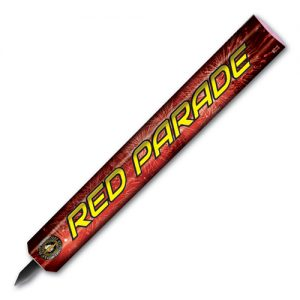 red parade candle