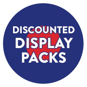 Discounted Display Packs