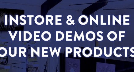 Video Demos on our 100 New Products